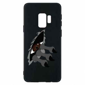 Phone case for Samsung S9 Monster eye