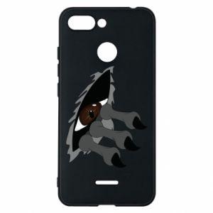 Phone case for Xiaomi Redmi 6 Monster eye
