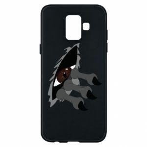 Phone case for Samsung A6 2018 Monster eye