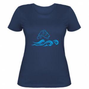 Women's t-shirt Big fish perch