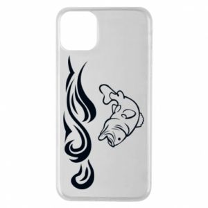 Phone case for iPhone 11 Pro Max Big fish perch