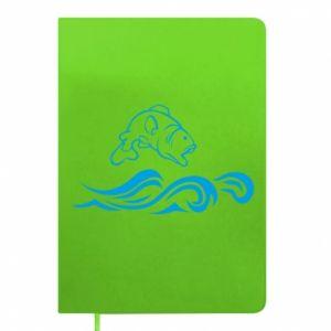 Notepad Big fish perch
