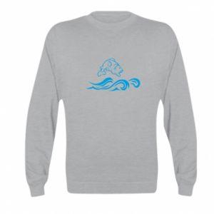 Bluza dziecięca Okoń wielkiej ryby