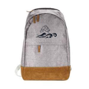 Miejski plecak Okoń wielkiej ryby