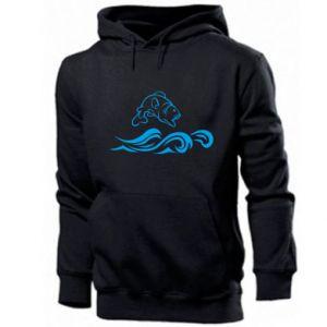 Men's hoodie Big fish perch