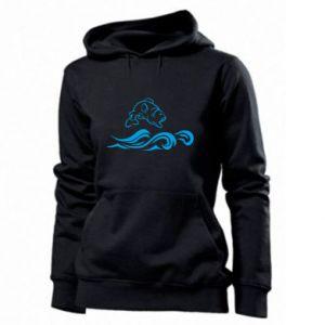 Women's hoodies Big fish perch