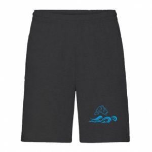Men's shorts Big fish perch