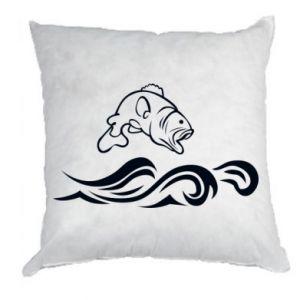 Pillow Big fish perch