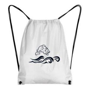 Backpack-bag Big fish perch