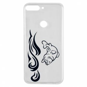 Phone case for Huawei Y7 Prime 2018 Big fish perch
