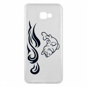 Phone case for Samsung J4 Plus 2018 Big fish perch