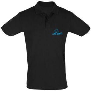 Koszulka Polo Okoń wielkiej ryby