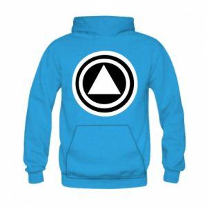 Kid's hoodie Circles