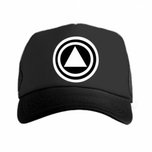 Trucker hat Circles