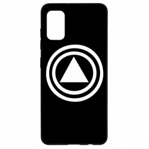 Samsung A41 Case Circles