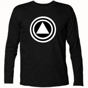 Long Sleeve T-shirt Circles