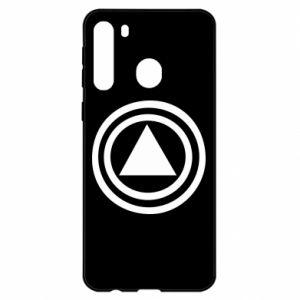 Samsung A21 Case Circles