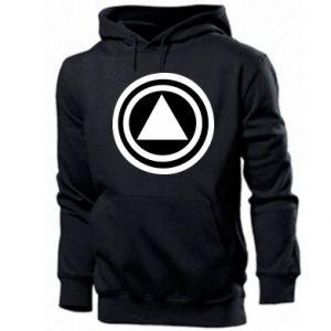 Men's hoodie Circles