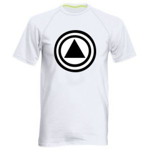 Men's sports t-shirt Circles