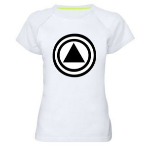 Women's sports t-shirt Circles