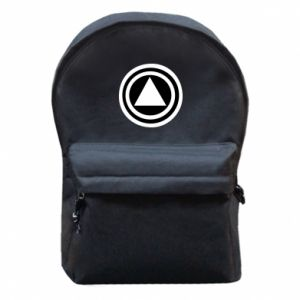 Backpack with front pocket Circles