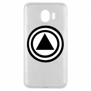 Phone case for Samsung J4 Circles
