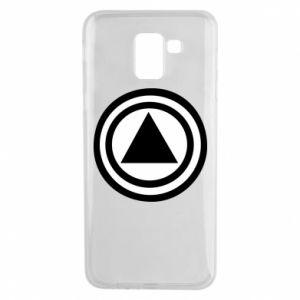 Phone case for Samsung J6 Circles