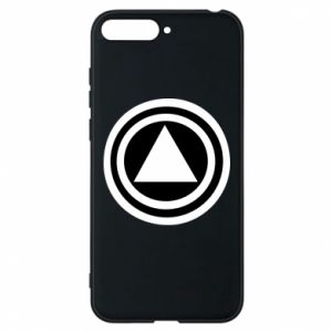 Phone case for Huawei Y6 2018 Circles