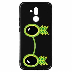 Etui na Huawei Mate 20 Lite Okulary - Ananas