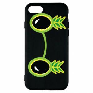 Etui na iPhone SE 2020 Okulary - Ananas