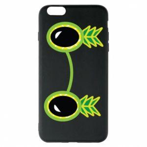 Etui na iPhone 6 Plus/6S Plus Okulary - Ananas