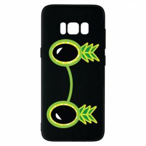 Etui na Samsung S8 Okulary - Ananas