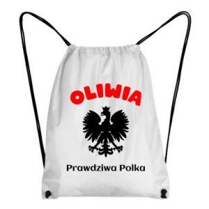 Plecak-worek Oliwia jest prawdziwą Polką