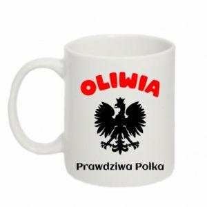 Kubek 330ml Oliwia jest prawdziwą Polką