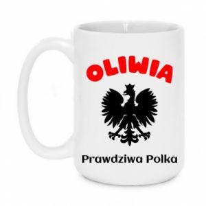 Mug 450ml Olivia is a real Pole - PrintSalon