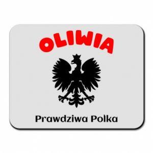 Podkładka pod mysz Oliwia jest prawdziwą Polką