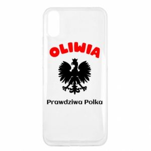 Phone case for Samsung J4 Plus 2018 Olivia is a real Pole - PrintSalon