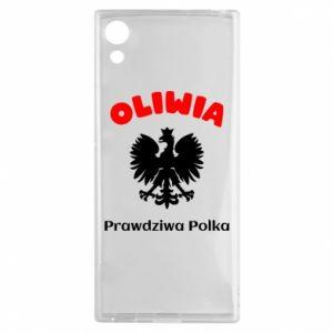 Phone case for Samsung A20 Olivia is a real Pole - PrintSalon