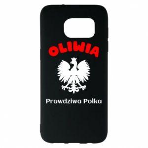 Phone case for Samsung A30 Olivia is a real Pole - PrintSalon