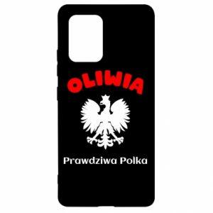 Phone case for Samsung A40 Olivia is a real Pole - PrintSalon
