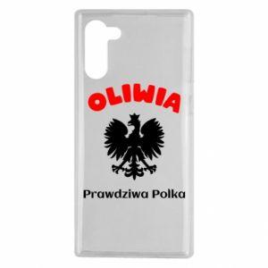 Phone case for Samsung A70 Olivia is a real Pole - PrintSalon