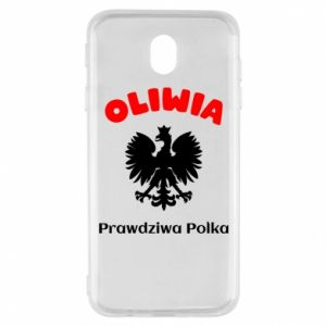 Phone case for Samsung S8 Olivia is a real Pole - PrintSalon