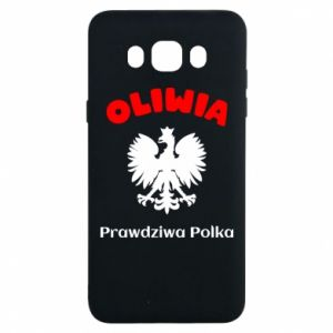 Phone case for Samsung S9 Olivia is a real Pole - PrintSalon