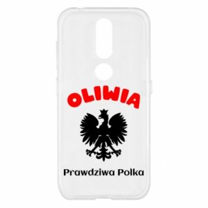 Phone case for Huawei Y6 2018 Olivia is a real Pole - PrintSalon