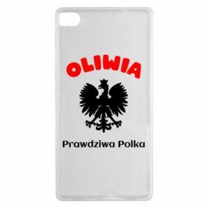 Phone case for Huawei P Smart Olivia is a real Pole - PrintSalon
