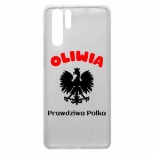 Phone case for Huawei P Smart Plus Olivia is a real Pole - PrintSalon