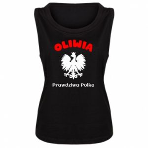 Women's t-shirt Olivia is a real Pole - PrintSalon