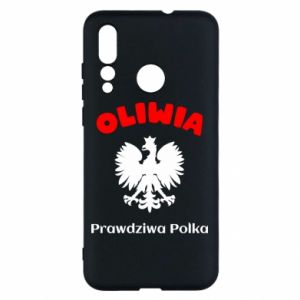 Phone case for Huawei P10 Lite Olivia is a real Pole - PrintSalon