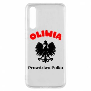 Phone case for Huawei P20 Olivia is a real Pole - PrintSalon