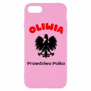 Phone case for Samsung A6 2018 Olivia is a real Pole - PrintSalon
